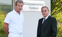 Leiter Dr. Ingmar und Gründer Primarius Dr. Hans Waller